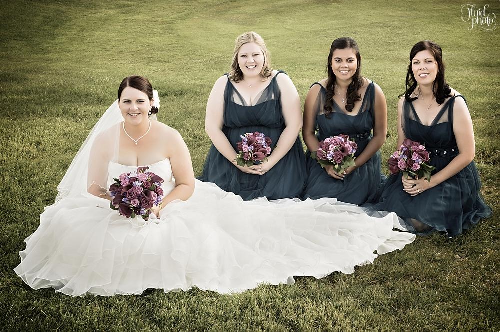 bride bridesmaids photo 32