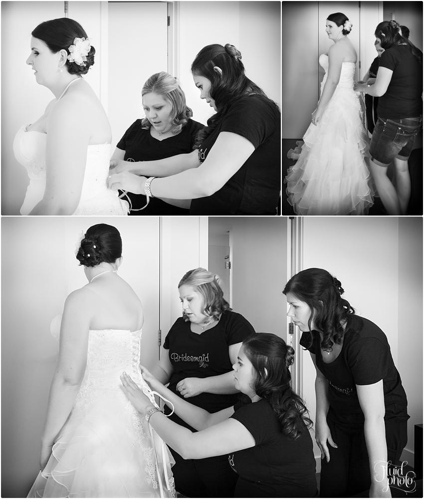 bride getting ready photos queenstown