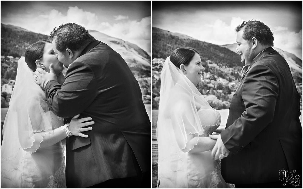 bride groom kiss photo 17