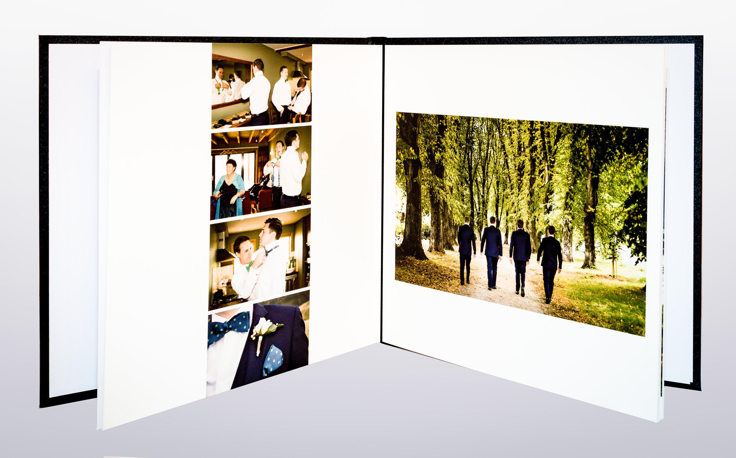 Layflat Album double page spread