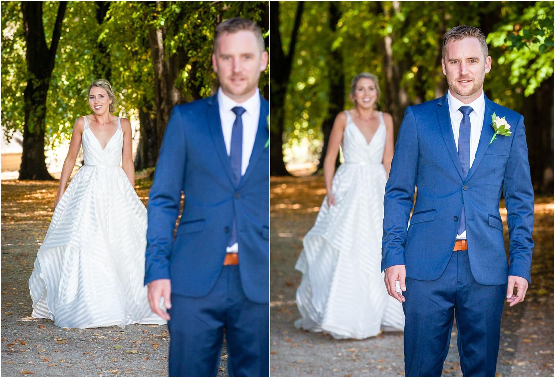 First look Wanaka Wedding