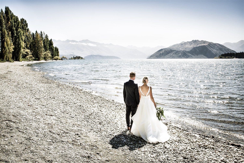 Bride Groom Lake Wanaka