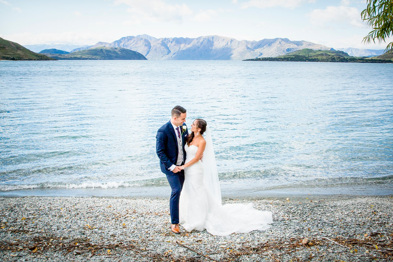 Wanaka Lakefront wedding Photo