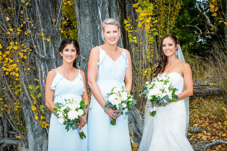 The Bridesmaids | Wanaka Wedding | Photography by Fluidphoto