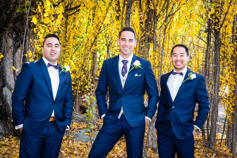 The groomsmen | Wanaka Wedding | Photography by Fluidphoto