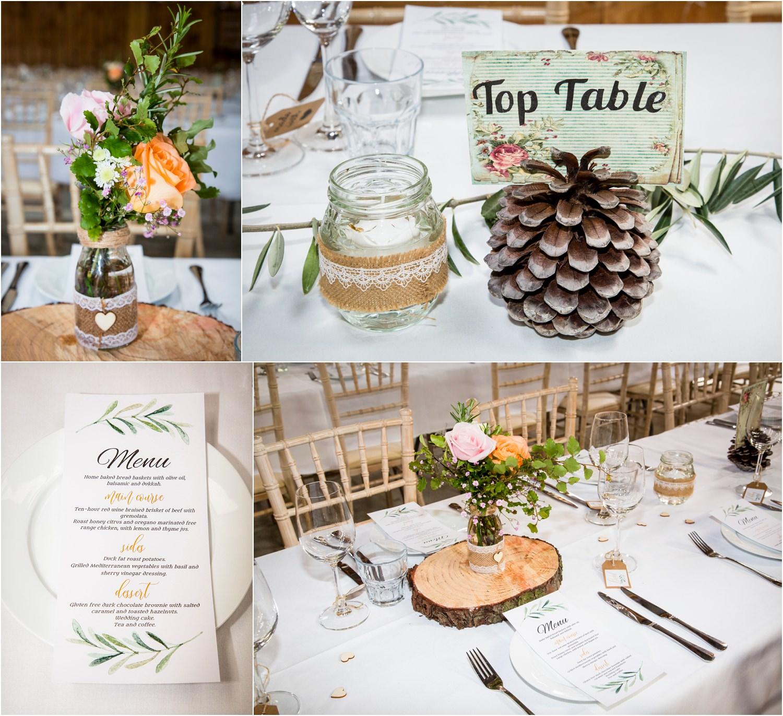 Table decor for vintage wedding | Glendhu Station Woolshed wedding reception Wanaka | Photography by Fluidphoto