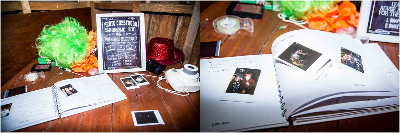 Wedding guestbook ideas | Glendhu Station Woolshed wedding reception Wanaka | Photography by Fluidphoto