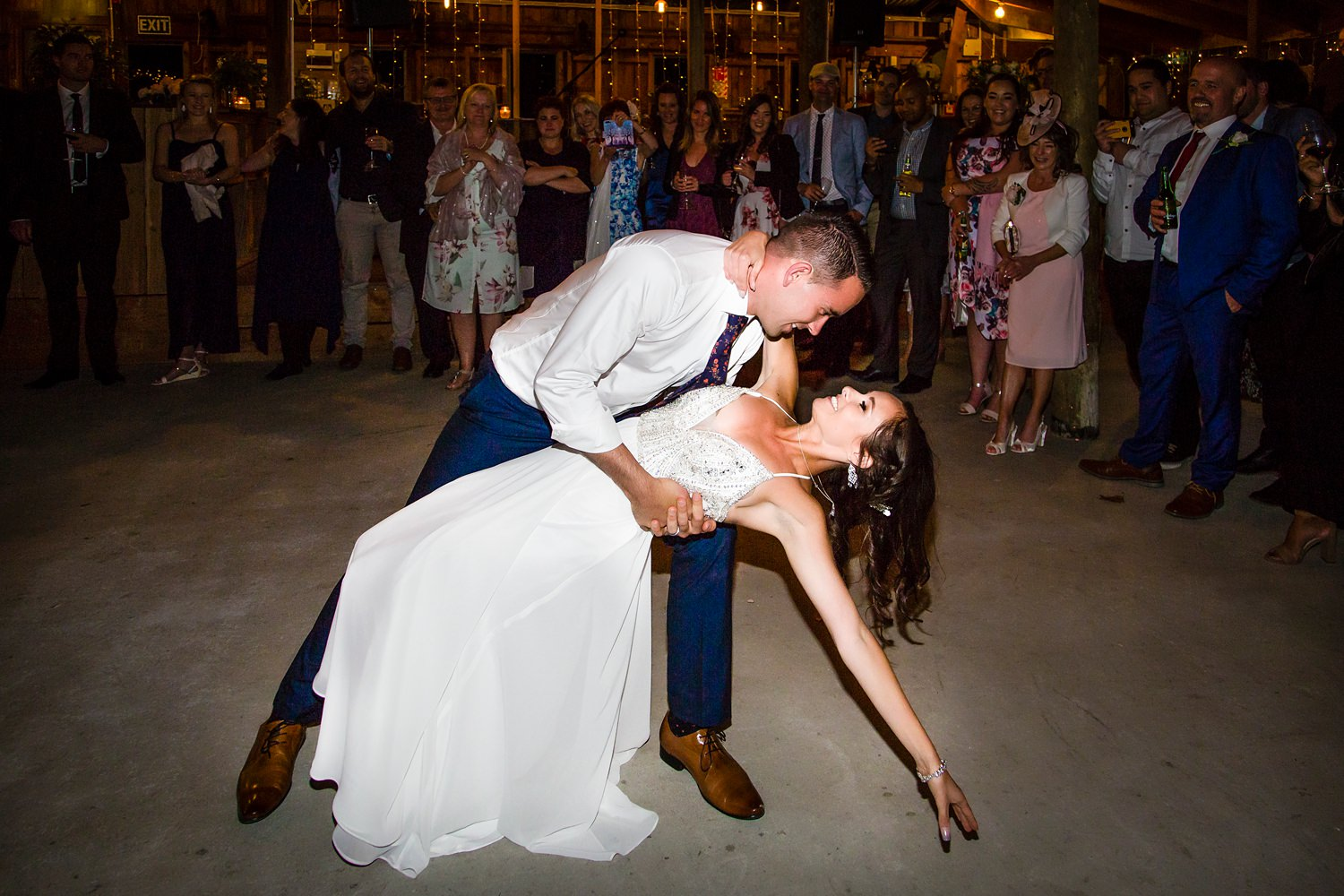 First dance | Glendhu woolshed wedding venue | Photography by Fluidphoto