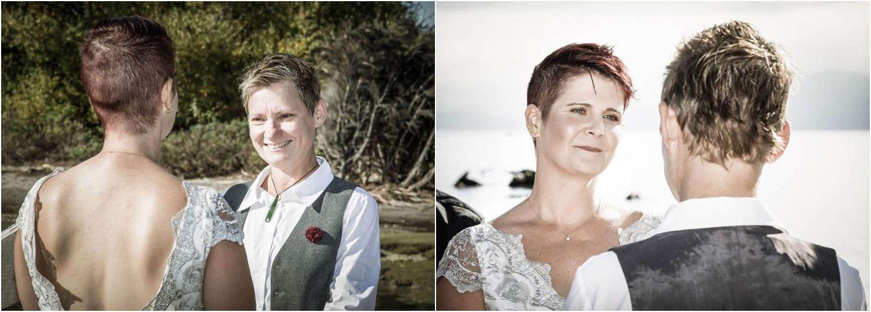 Intimate Autumn Wanaka Wedding  Wanaka Photographer Fluidphoto  Love is Love