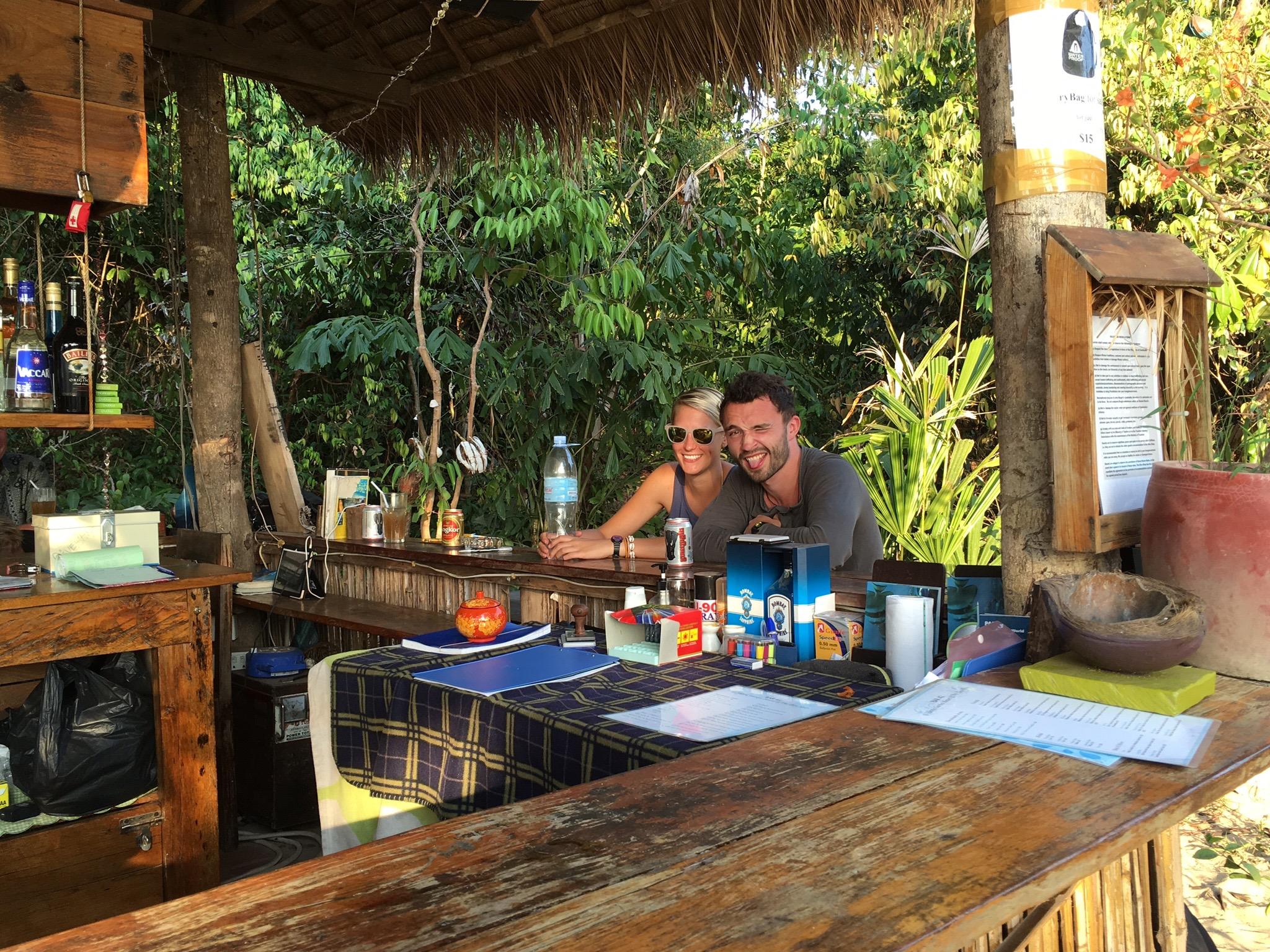 Kat & Nathan (Dive Shop bar)