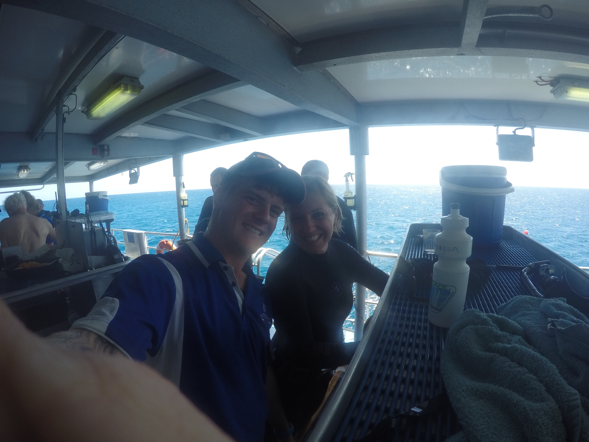 Outer GBR on Mike Ball boat