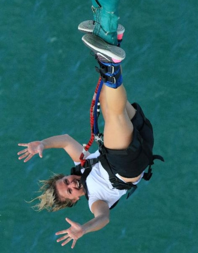Auckland Harbour Bridge Bungy Jump