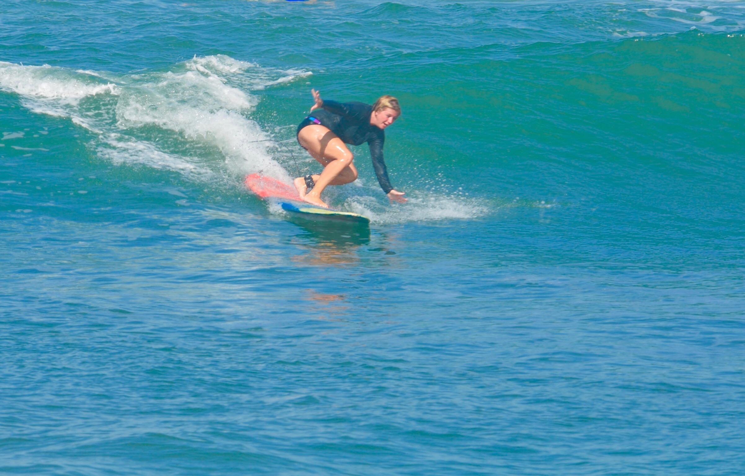 Surfing...sorta