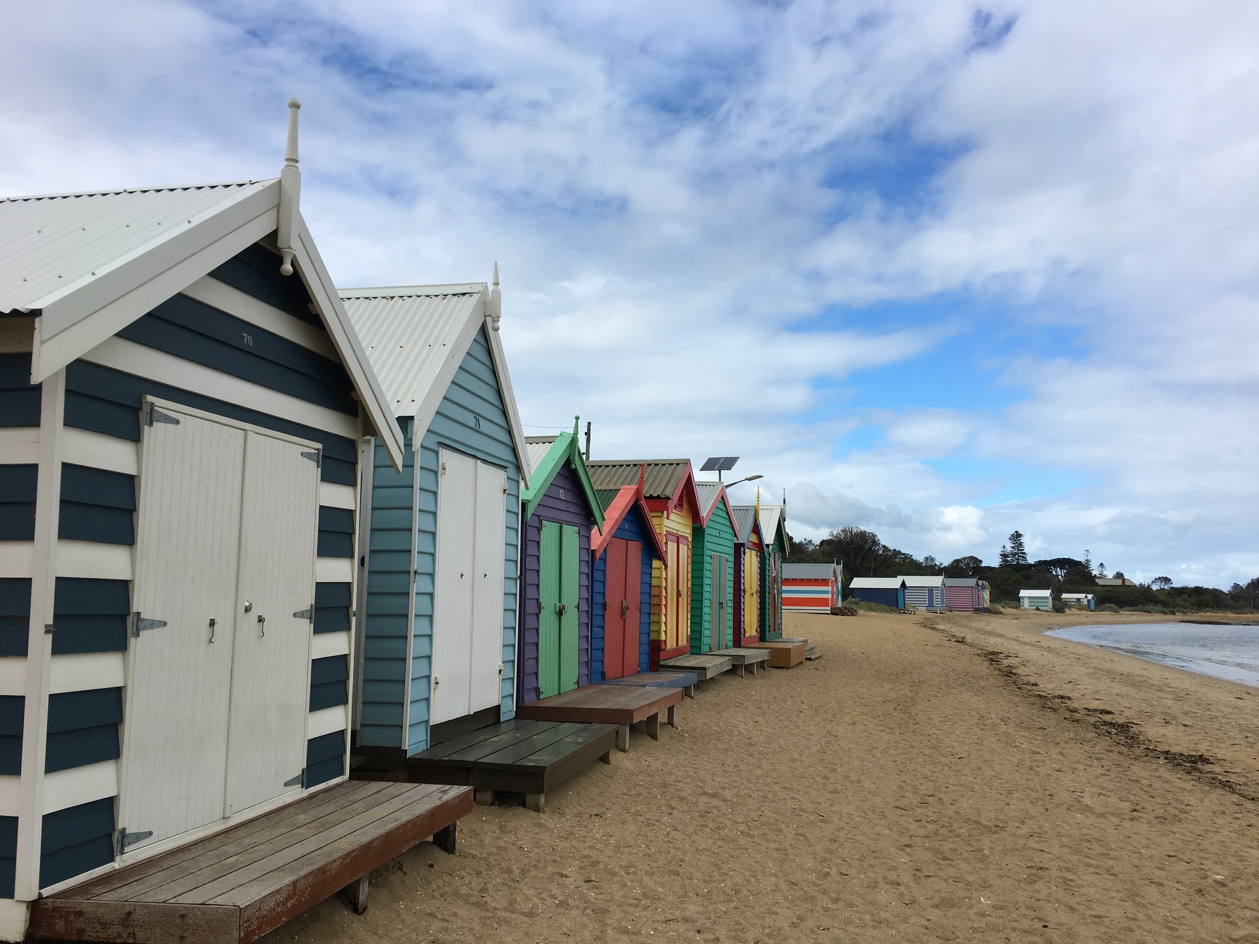 Another reason to travel: To see the beautiful beach boxes in Brighton