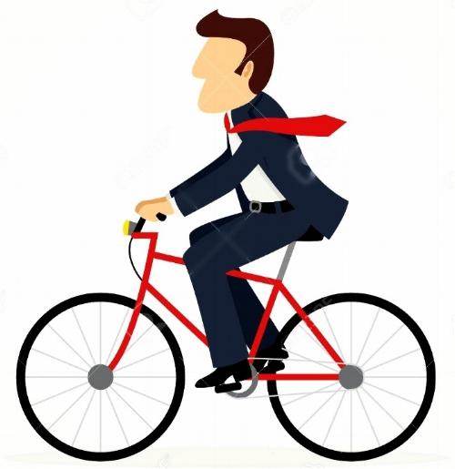 65746429-Semplice-cartone-animato-di-uomo-d-affari-che-guida-una-bicicletta-Archivio-Fotografico.jpg