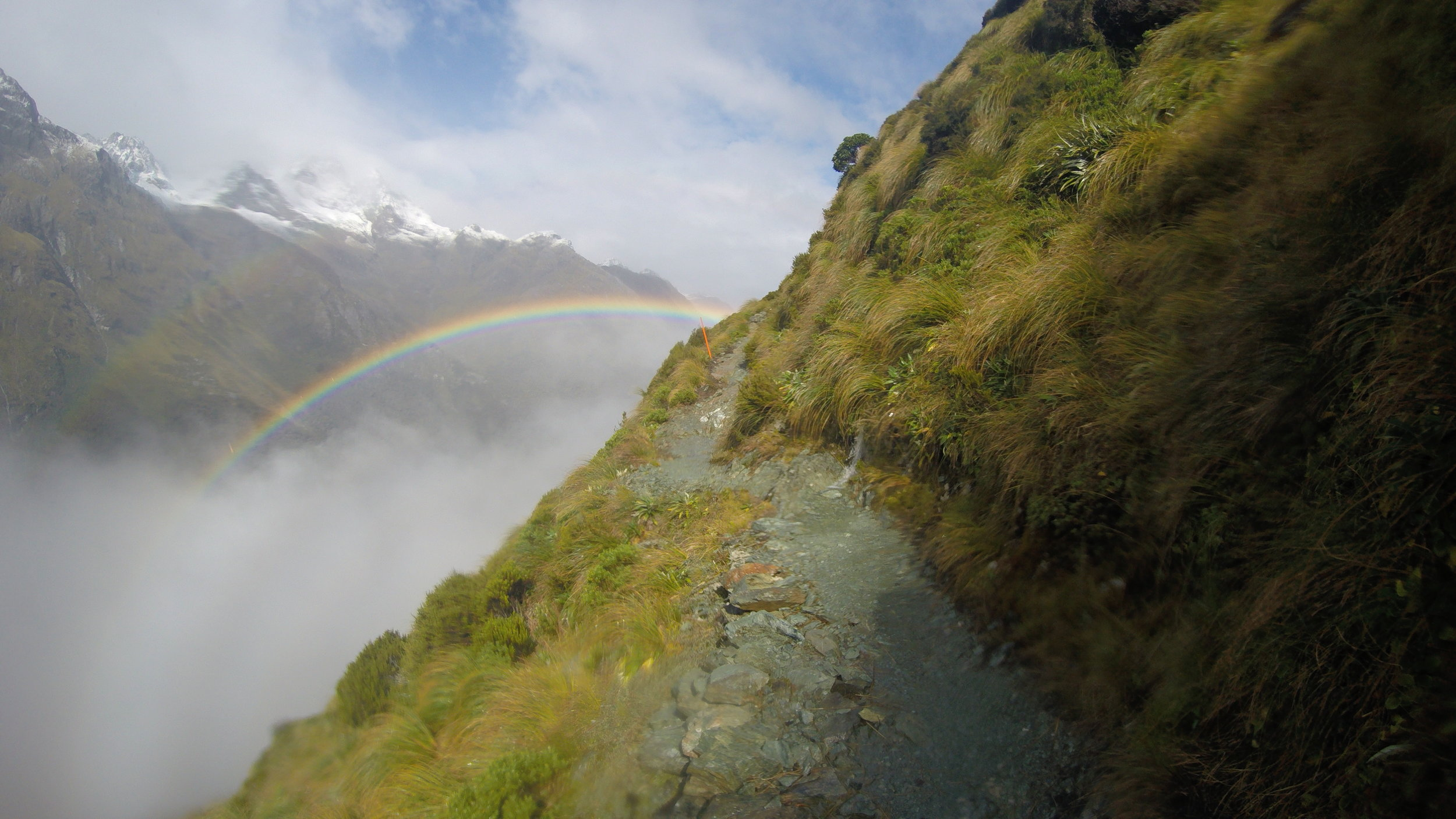 Routeburn rainbow