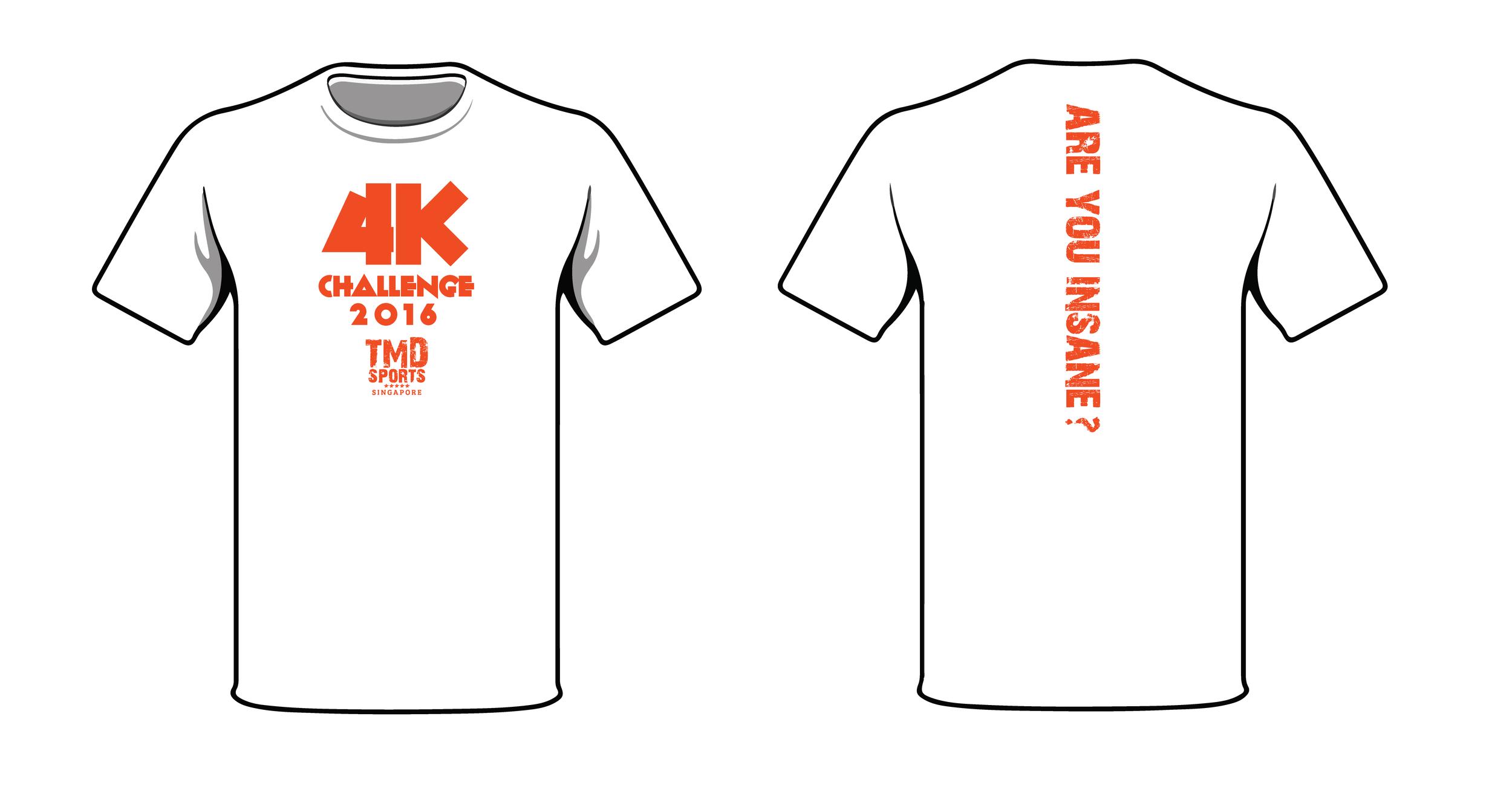4K Challenge Shirt