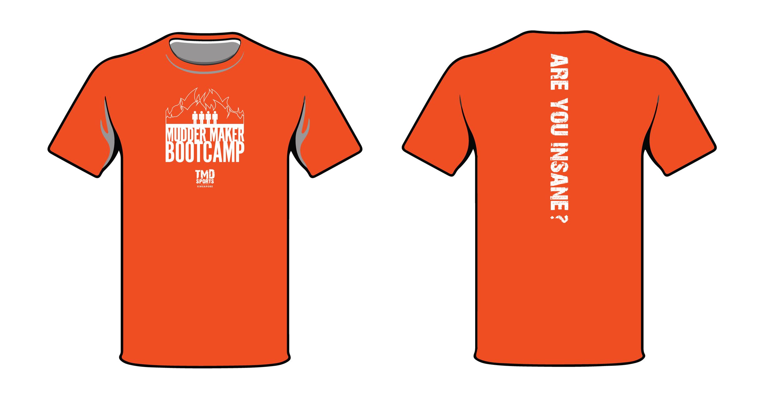TMDsports Bootcamp T-Shirt