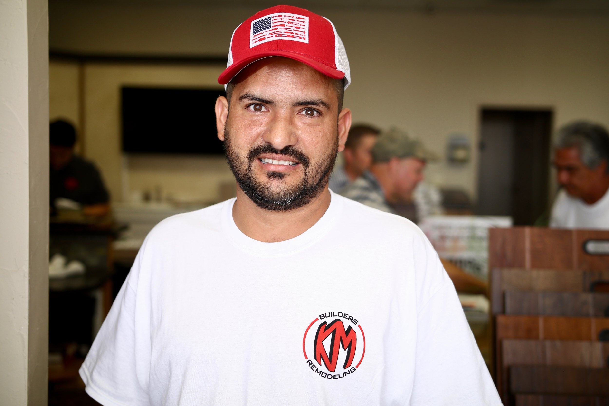 Manuel Larios - Finish Crew - August 2016