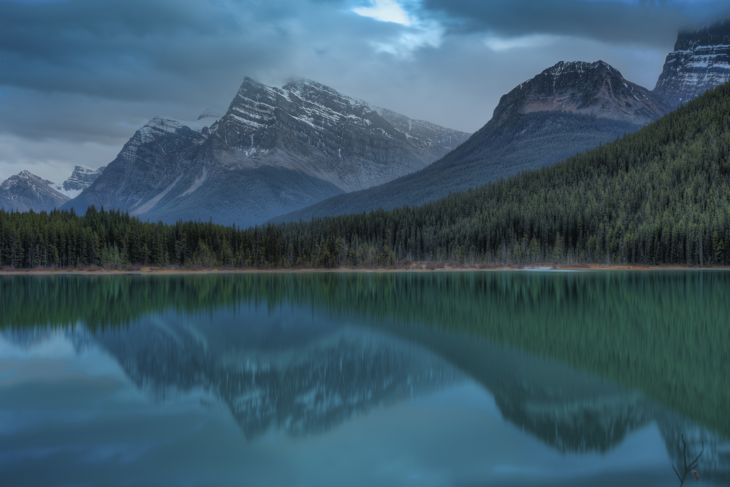 Along the Icefields Parkway, Alberta