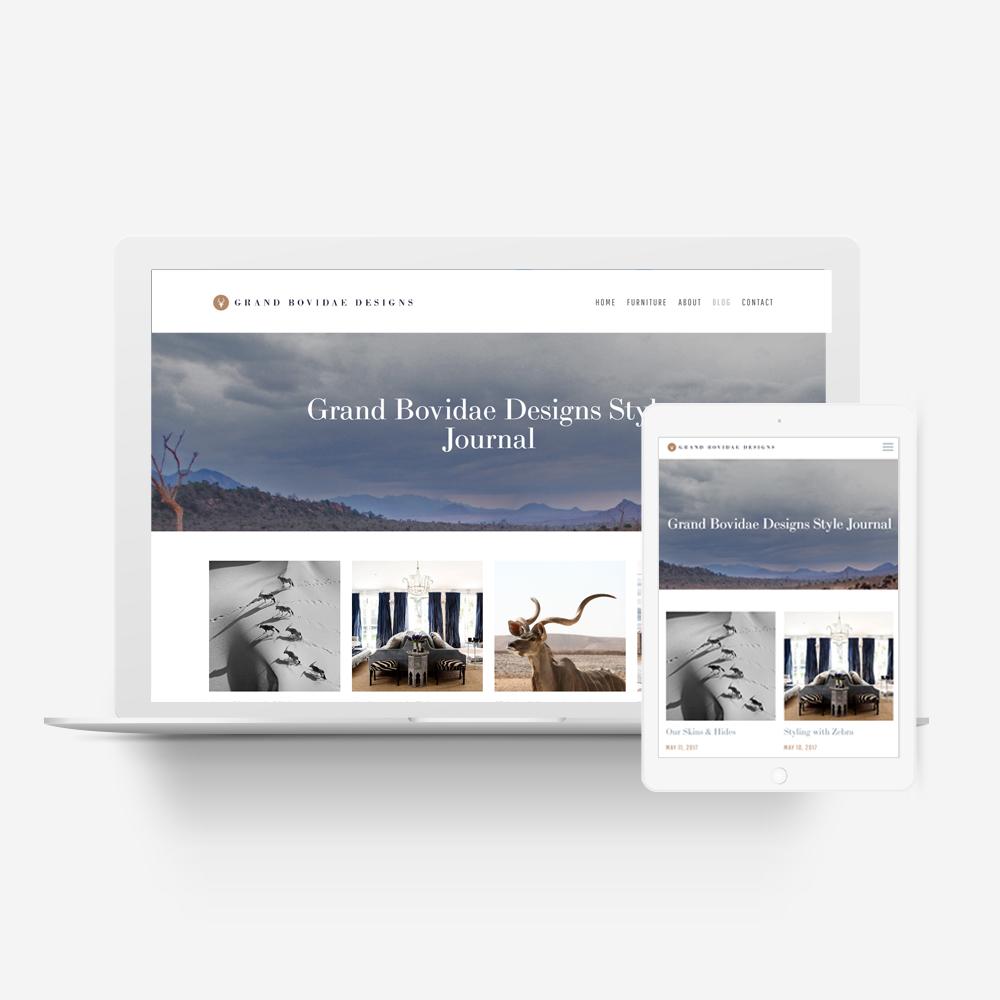 Grand Bovidae Designs - Manawa Website Design Showcase