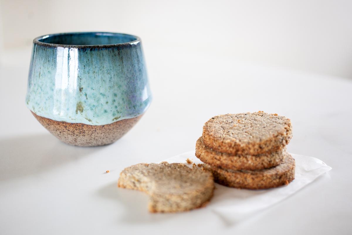 Salted Wattleseed & Orange Cookies
