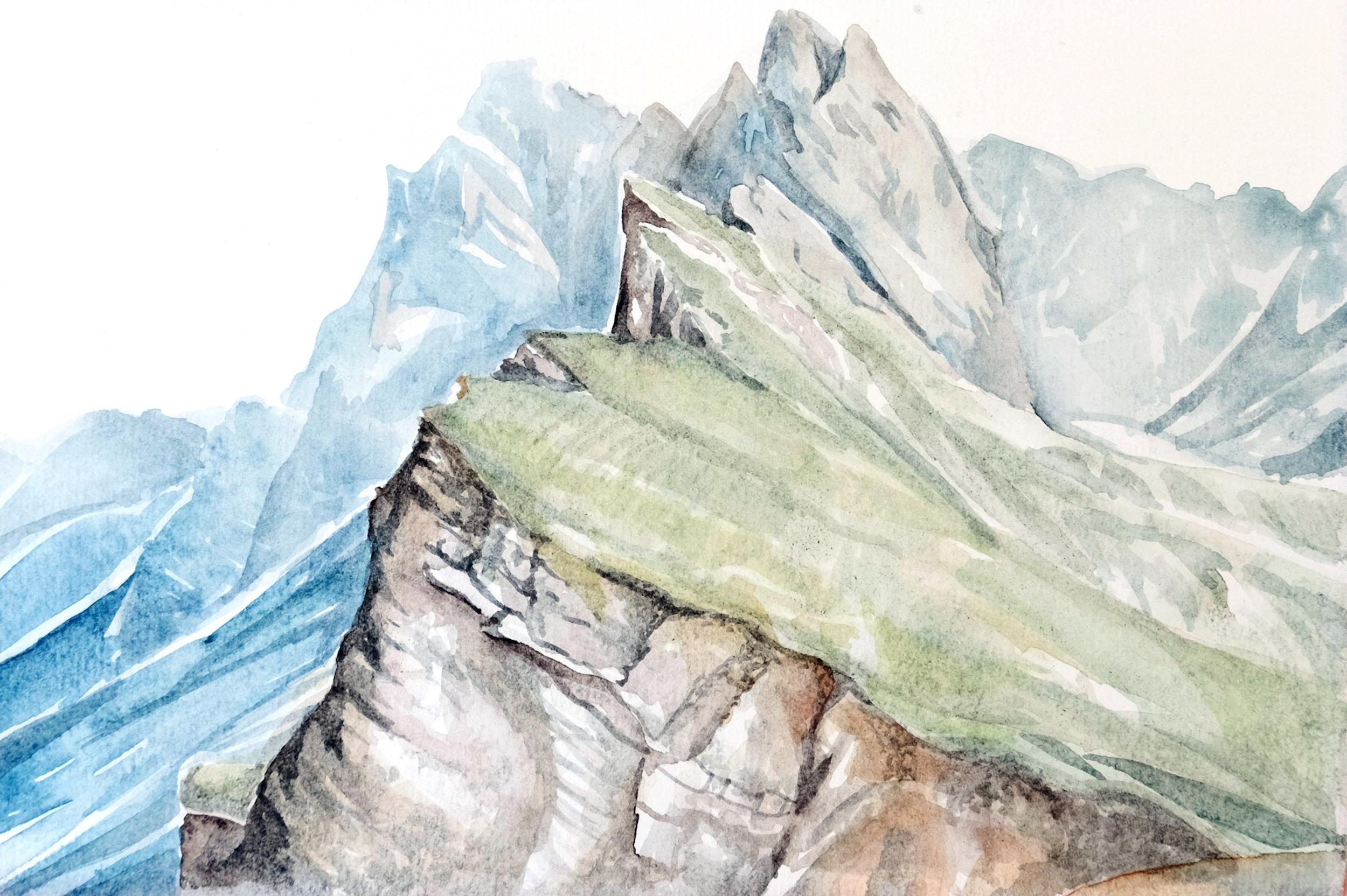 Dolomites in the Spring