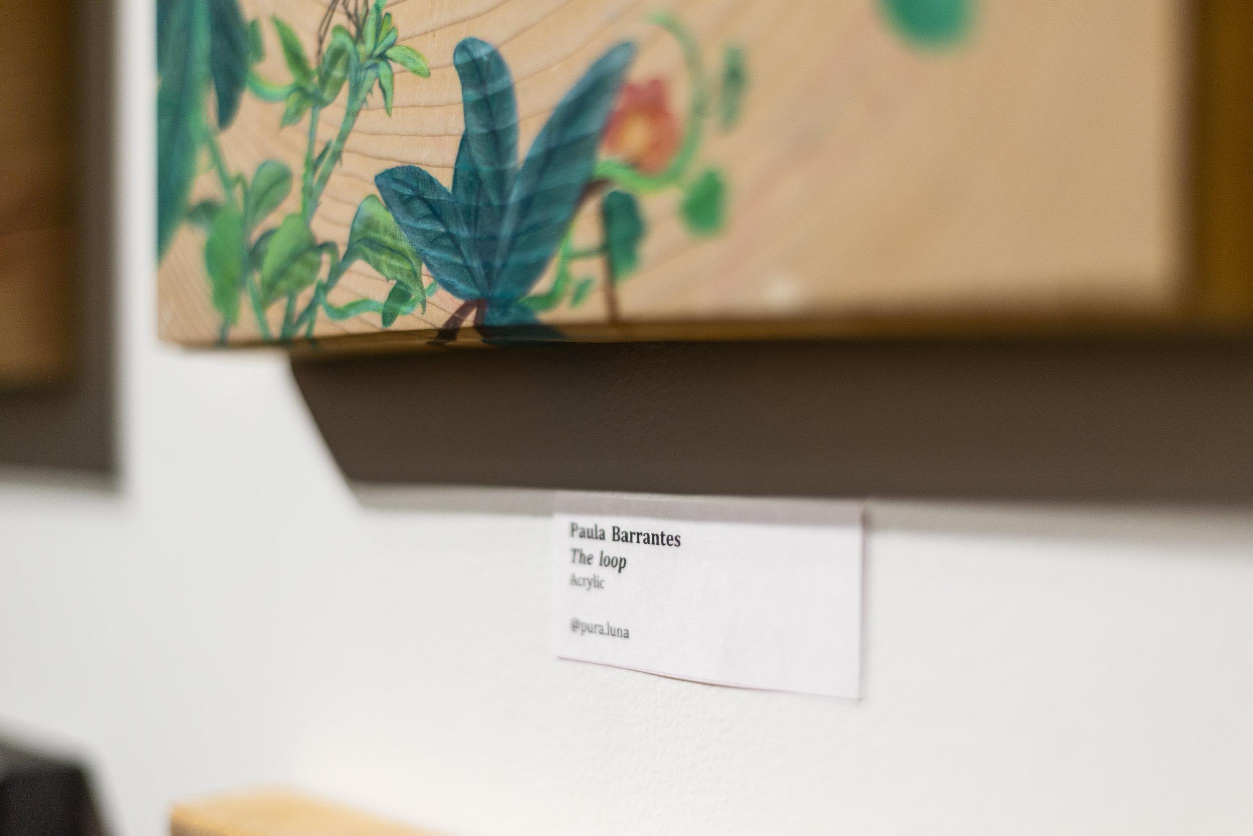 The Loop Painting - Paula Barrantes