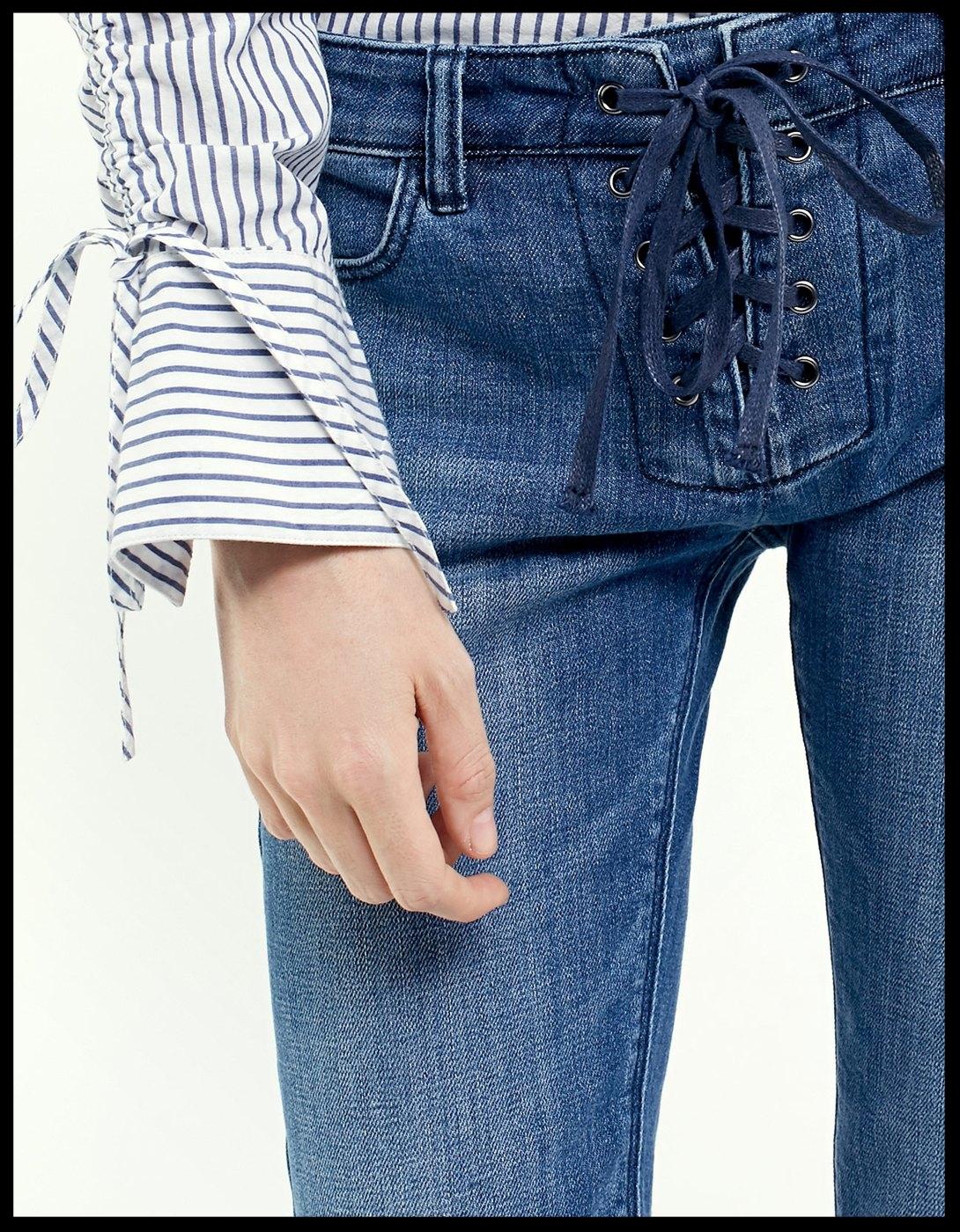 Stradivarius Blue Jeans