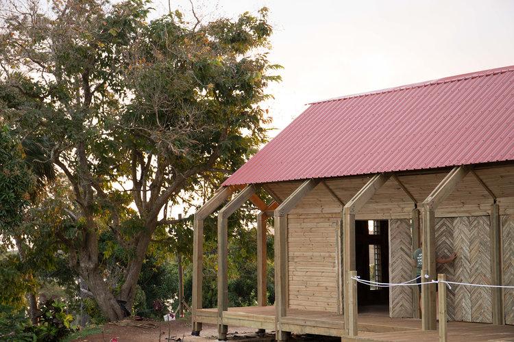 The Vivili Community Hall