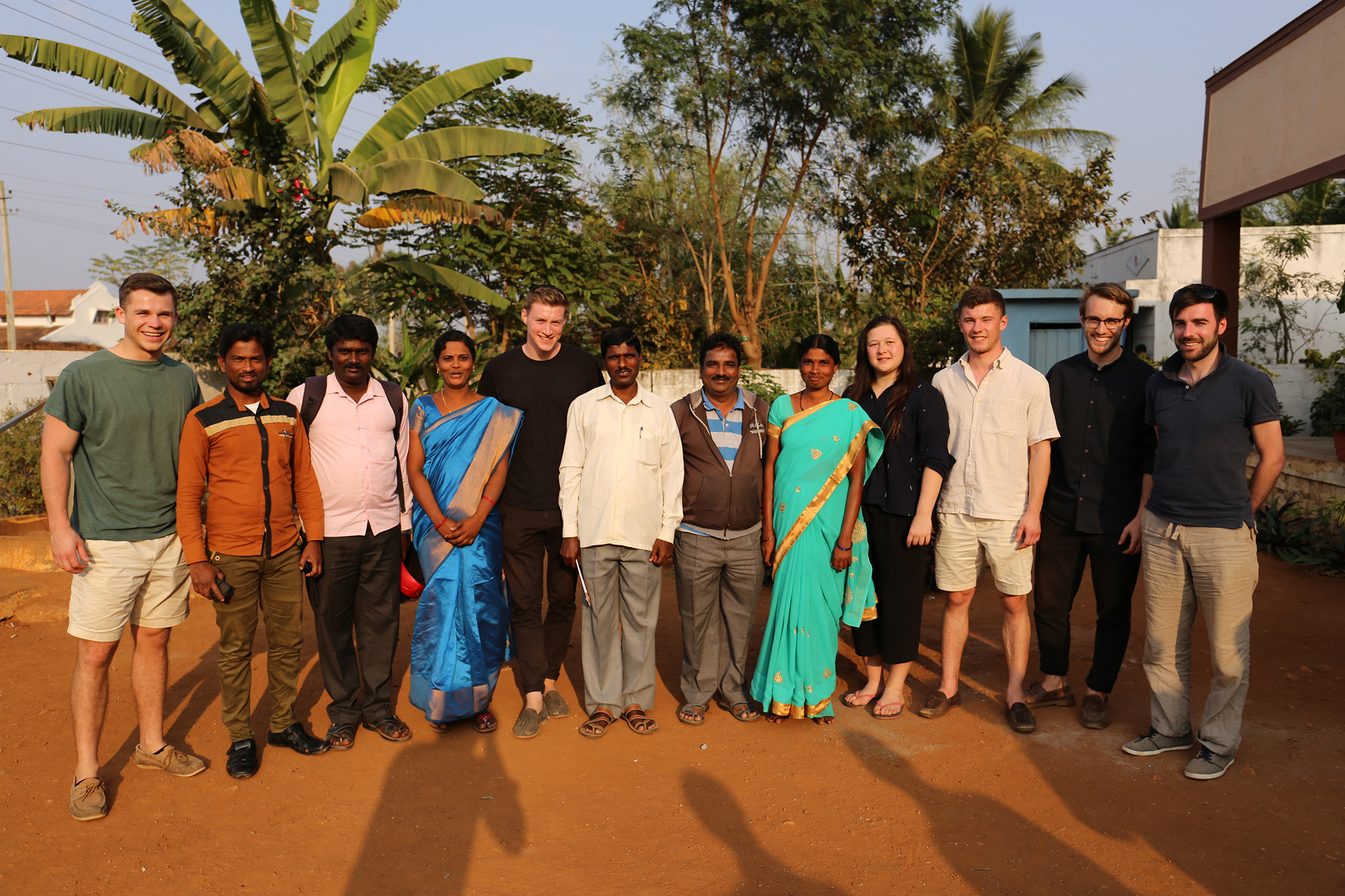 The CAUKIN Team with some of the Jeevika Team