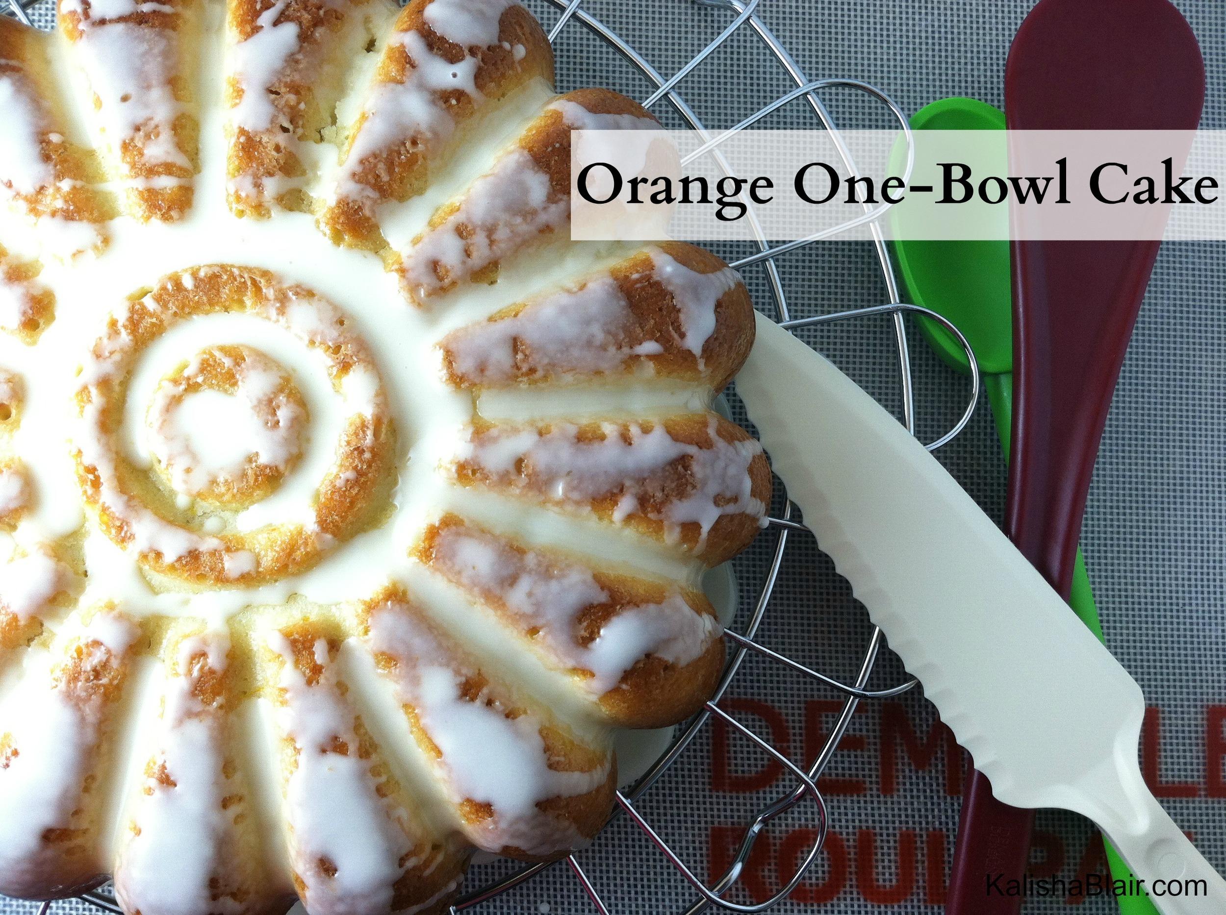 One Bowl Cake