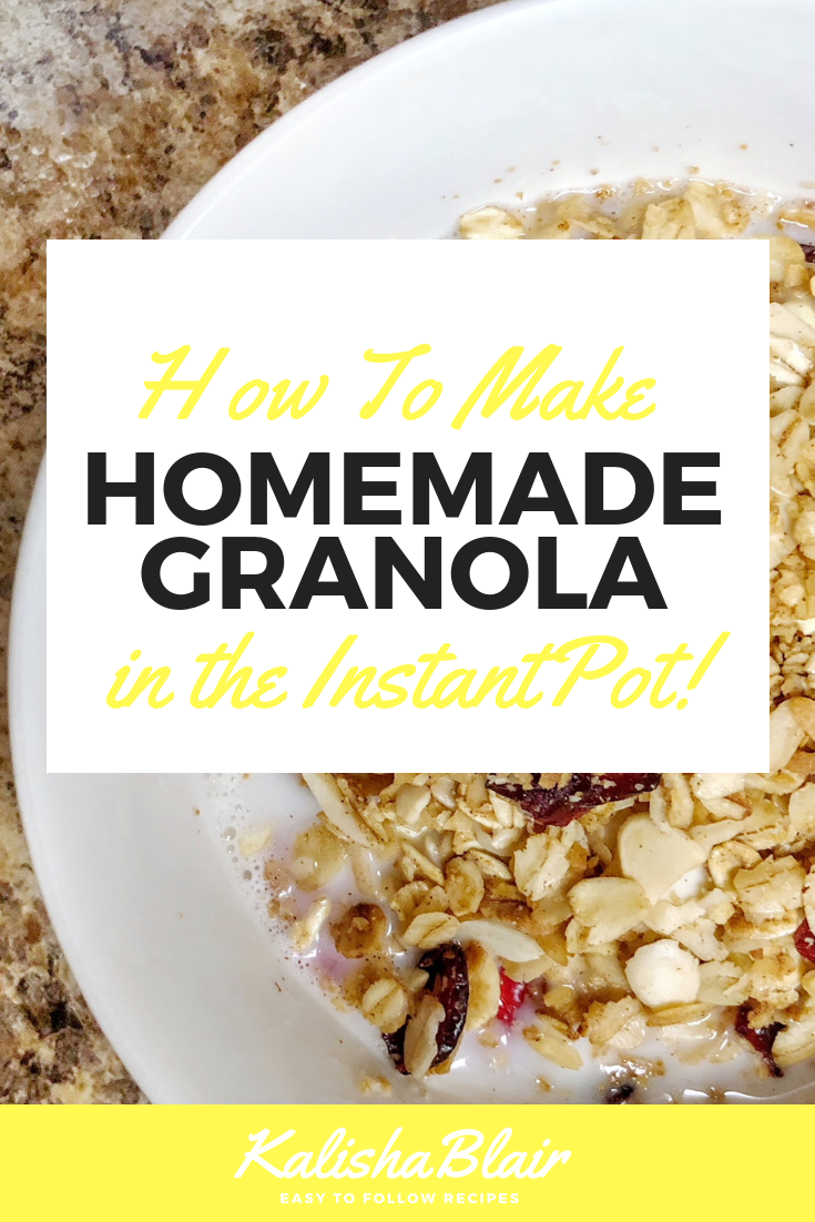 Instapot granola