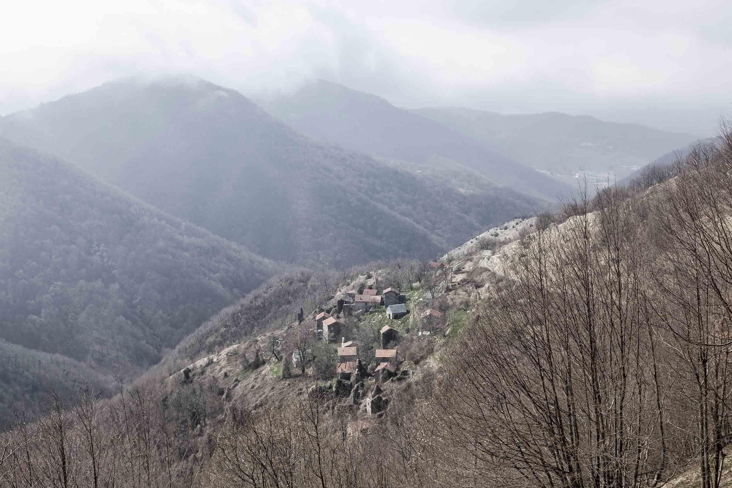 Abandoned landscapes north of Genova, Italy. Image: Luca Casonato