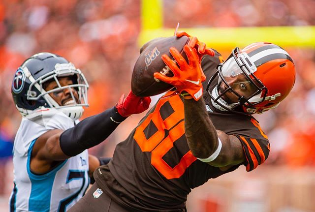 Week one action for @clevelandbrowns