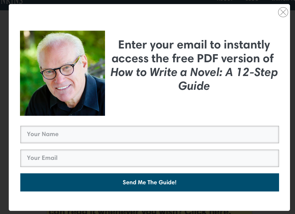 Email Prompt from jerryjenkins.com