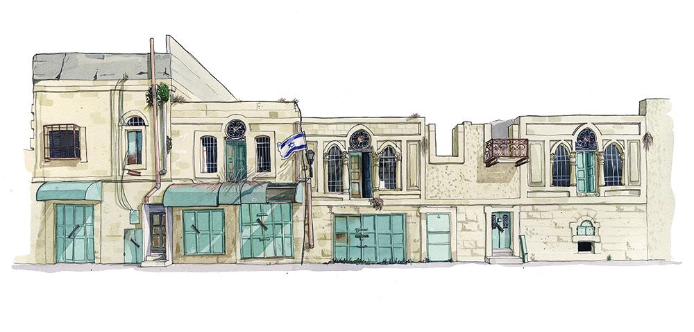 Al-Shuhada Street, Hebron.