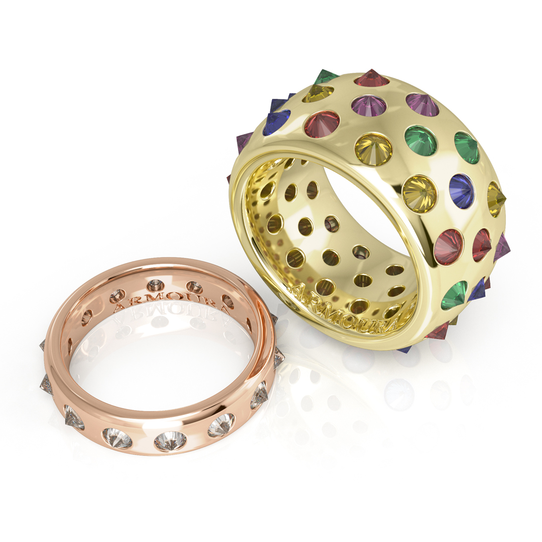 Fibonacci Spikey diamond Ring.jpg
