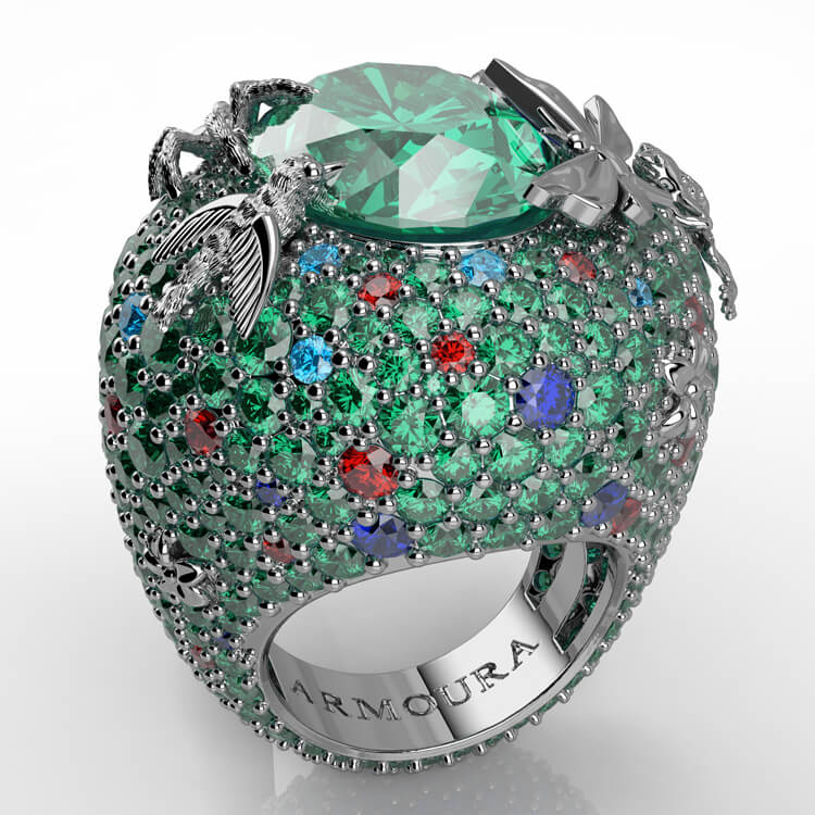 Rainforest Emerald Cocktail Ring.jpg