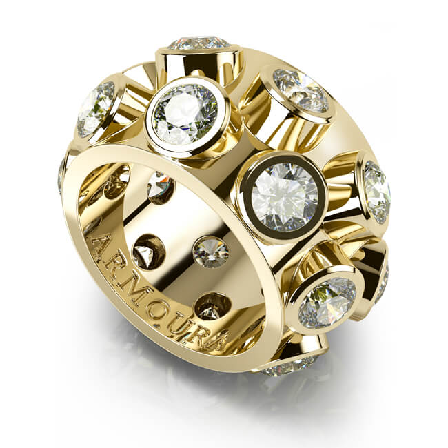 Frog Ring in 18kt yellow gold and diamonds.jpg