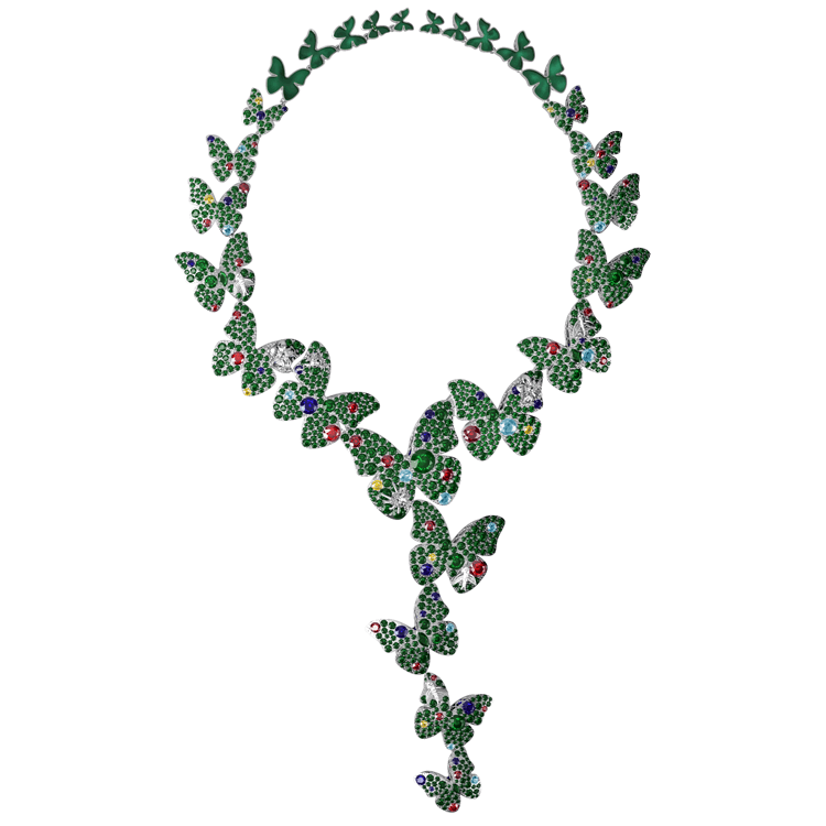 Rainforest Haute couture high jewellery necklace.jpg