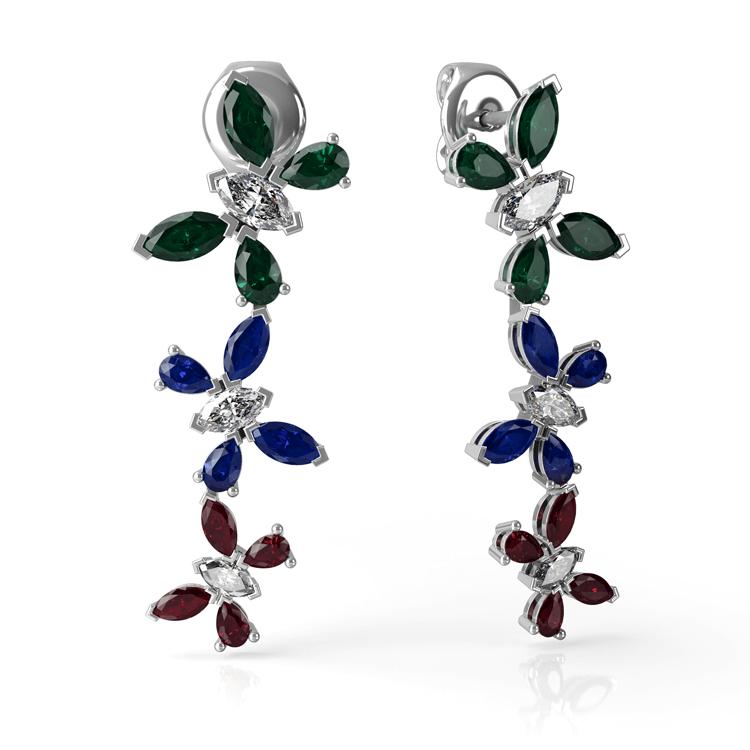 Drop Stone set rain forest earrings.jpg
