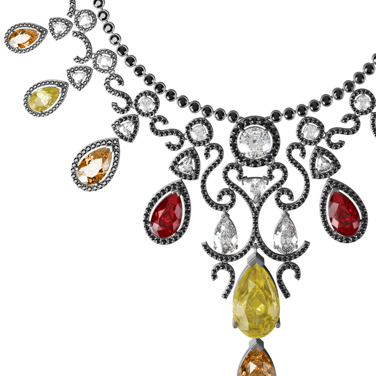 Volcano diamond and ruby necklace close up.png