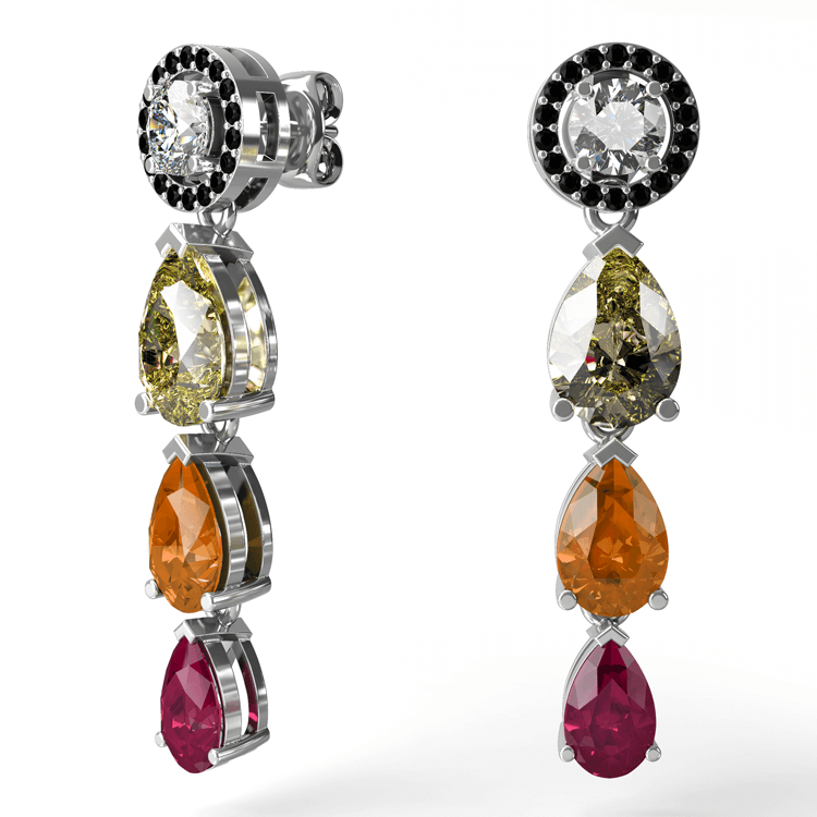 Ruby, Citrine and diamond sapphire earrings.jpg