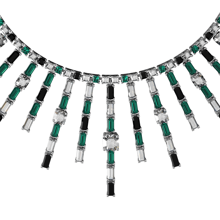 Art Deco Emerald burst diamond and onyx necklace.png