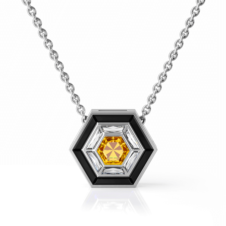Hexagonal diamond necklace.png