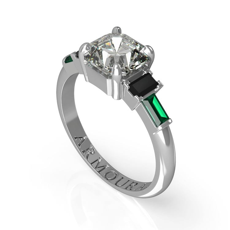 Art Deco Emerald and diamond engagement Ring.jpg