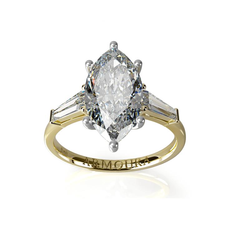 Marquise cut diamond engagement Ring.jpg