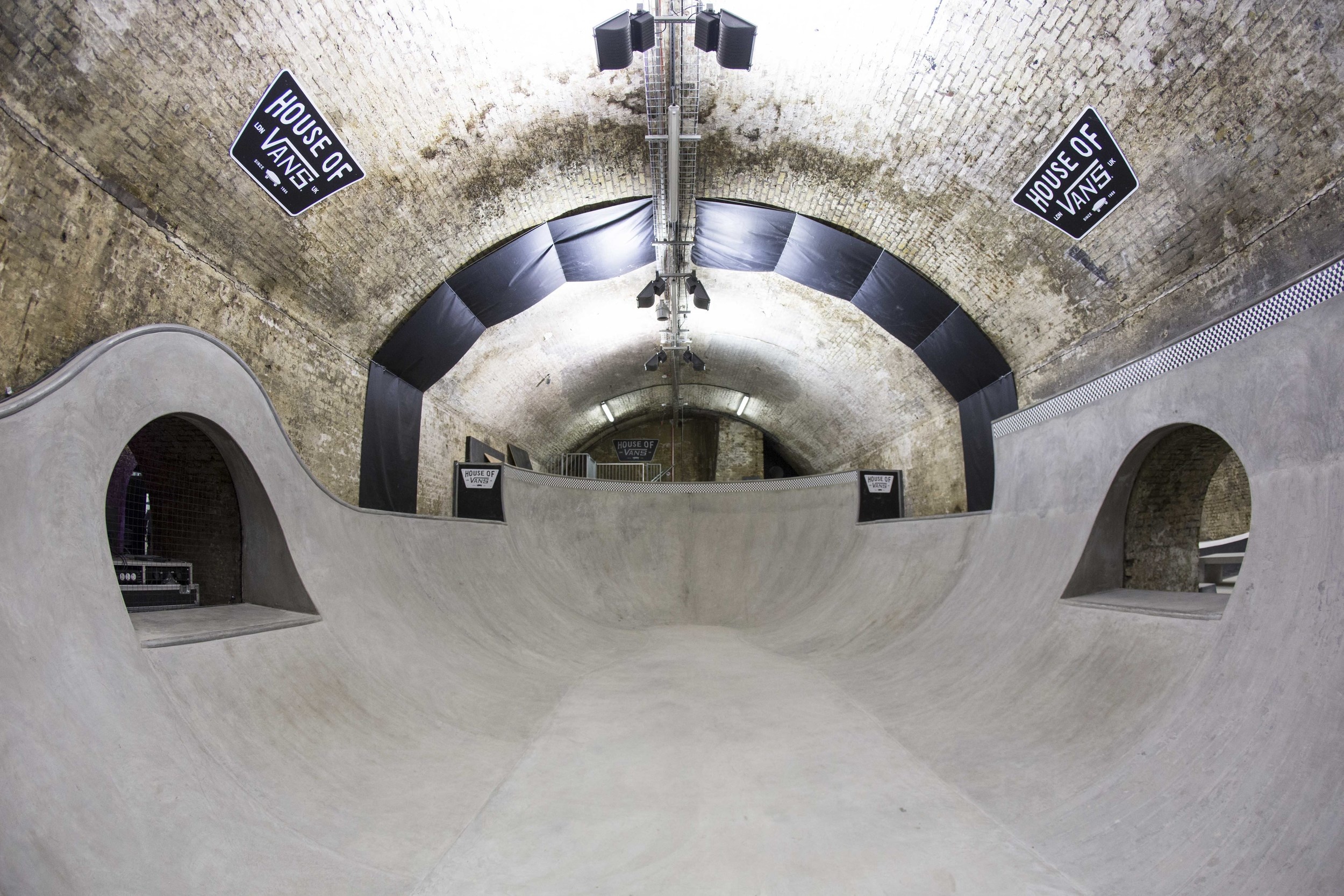 Tunnel 4/5 - Bowl & Street Course