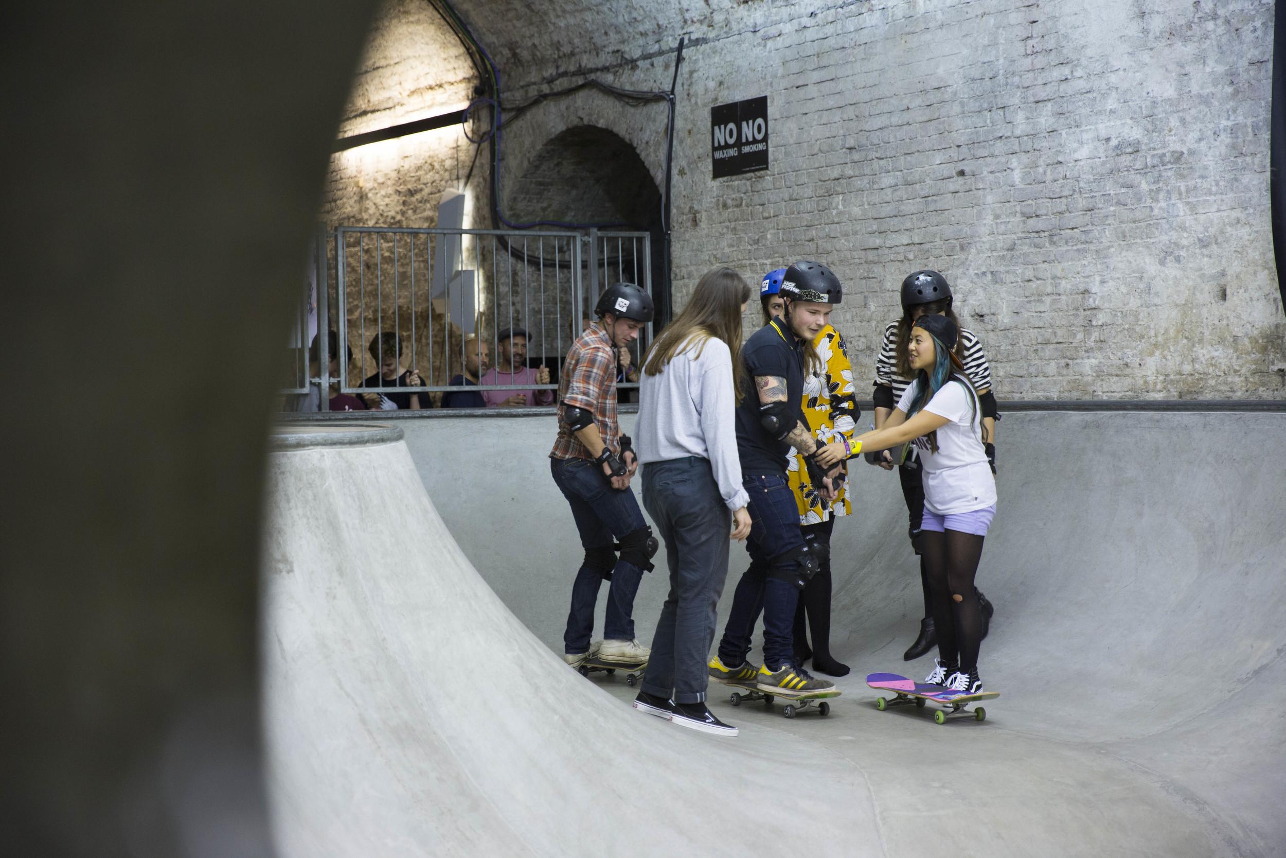 All Girl Skate Skool